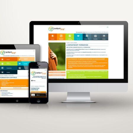 Webdesign L'enfantScop formation