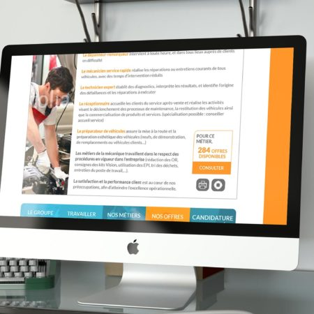Webdesign descriptif métier gbrecrute