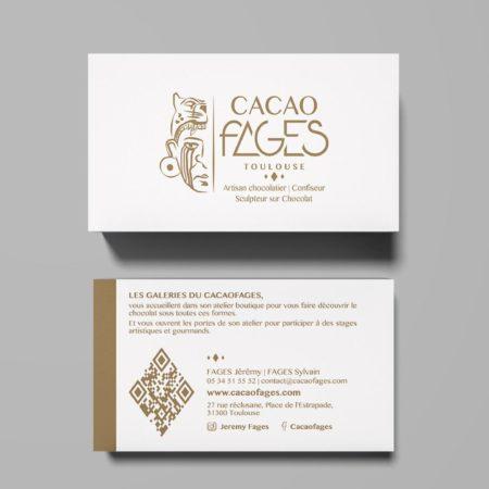 Carte de visite Cacaofages