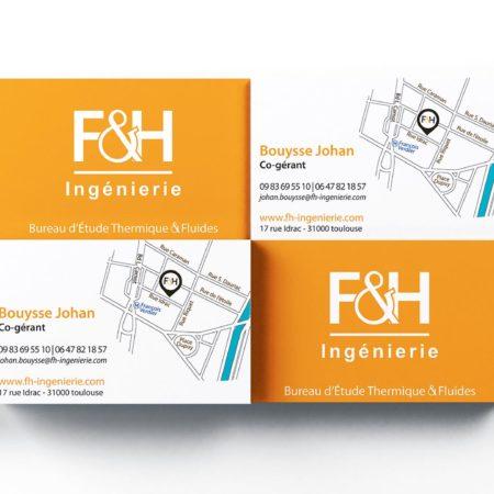 carte de visite F&H Ingénierie