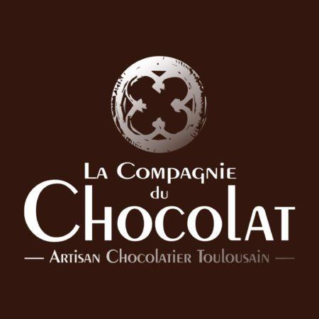 Logo défonce Compagnie du Chocolat