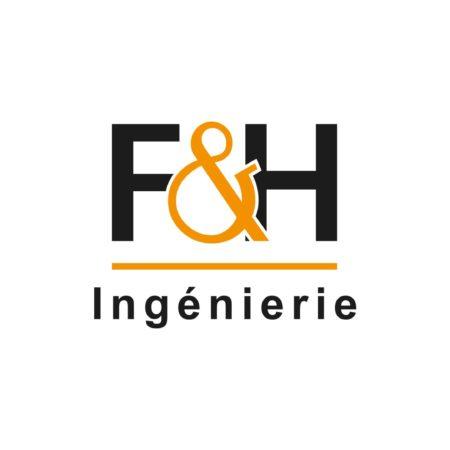 logo couleur F&H Ingénierie