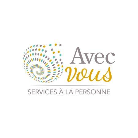 Logo couleur Avec Vous Services à la personne