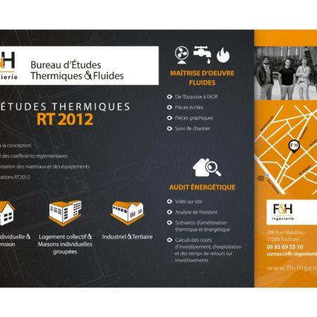 insertion publicitaire F&H Ingénierie