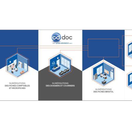 Habillage de stand Cddoc Congrès notaire 2018