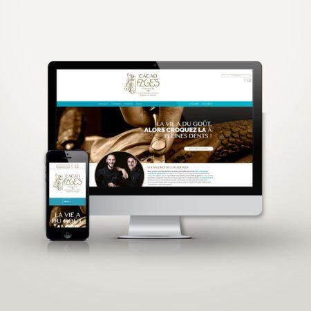 Webdesign cacaofages