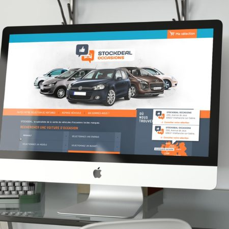 Webdesign de stockdeal