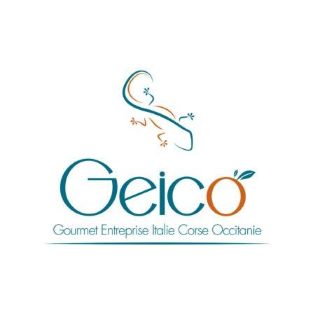 Logo quadri de la marque Geico