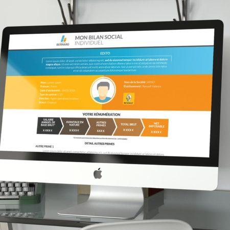 Webdesign RH BSI Groupe Bernard
