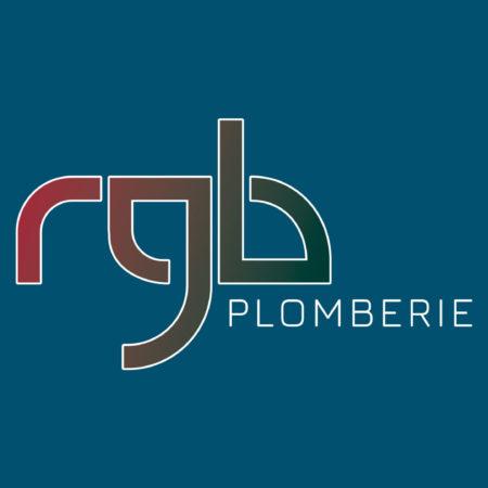 Logo RGB plomberie en défonce