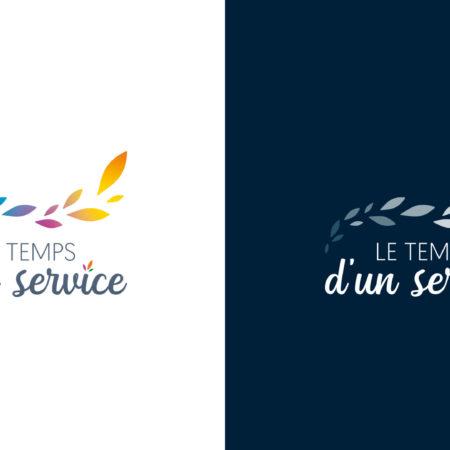 Logo Quadri et Blanc Le temps d'un service